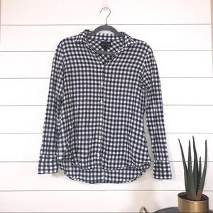 J. Crew Classic Fit Gingham Button Down